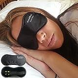 PrimeEffects Sweet Dreams - Mascherina da notte con tappi per orecchie inclusi