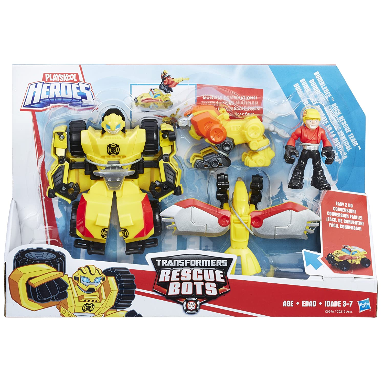 Transformers RBT Bumblebee Rescue Team Action Figure, Figures   Amazon  Canada