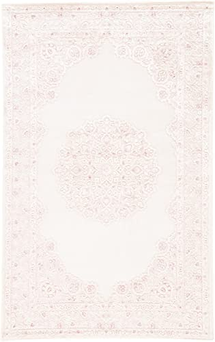 Jaipur Living Malo Medallion White Area Rug 7 6 X 9 6