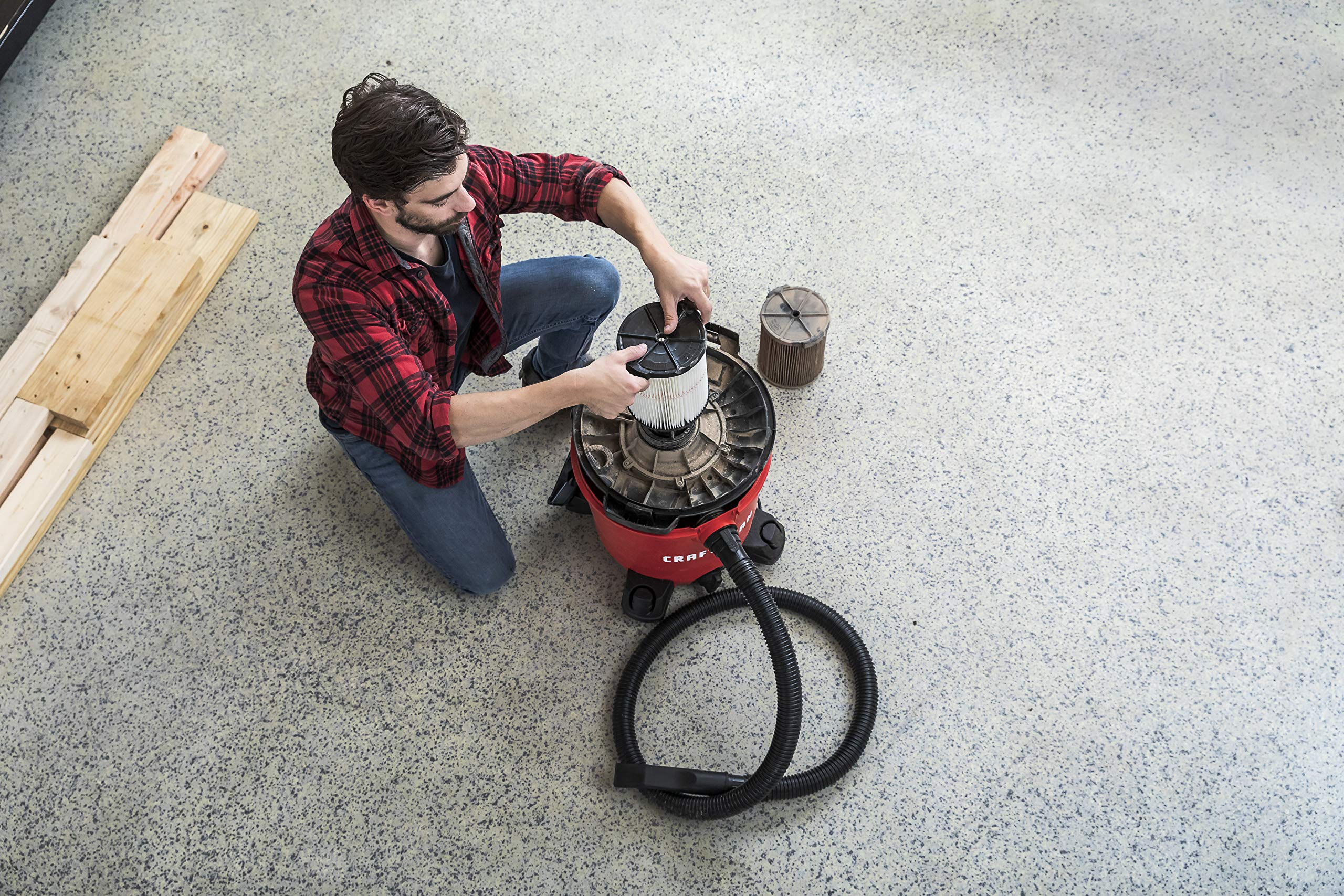 CRAFTSMAN CMXEVBE17590 9 gallon 4.25 Peak Hp Wet/Dry Vac, Portable Shop Vacuum with Attachments by Craftsman (Image #6)