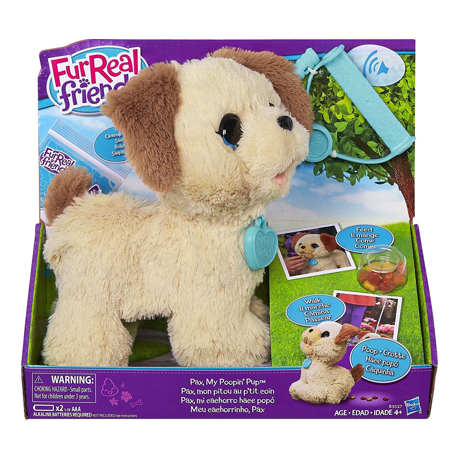 Amazon FurReal Friends Pax My Poopin Pup Toys & Games