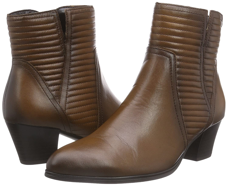 Gabor (Sattel Schuhes 31.682 Damen Kurzschaft Stiefel Braun (Sattel Gabor (Effekt) 22) f4bc77