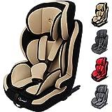 Clamaro 'Guardian ISOFIX' Kinderautositz Isofix 9-36 kg 1-12 Jahre Gruppe 1/2/3, ECE R44/04, verstellbarer und mitwachsender Autokindersitz mit SPS Side Protection System (Seitenaufprallschutz)