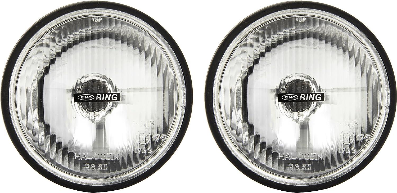 Juego de 2 faros delanteros redondos de 160x 160x 70mm de Ring Automotive (RL020)