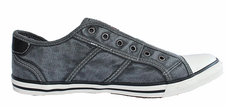 Tysonz American Chillers Sommer-Sneakerz, ohne Schnürsenkel (44)