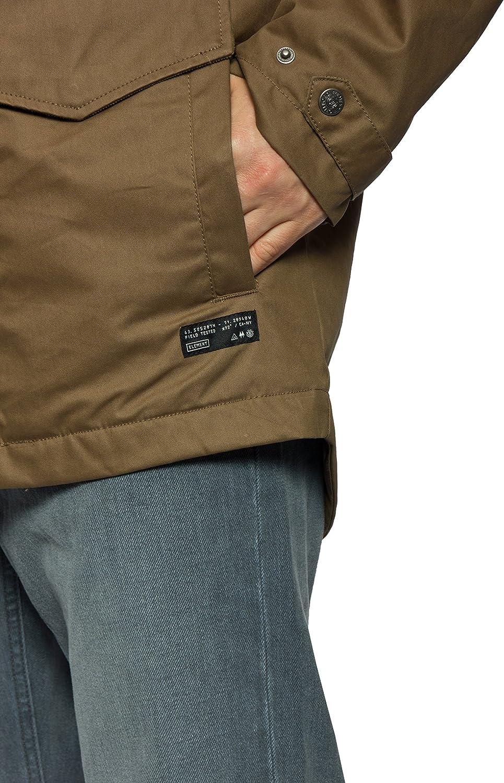 Gewachste Canvas Jacke mit Kapuze navy | Jacken