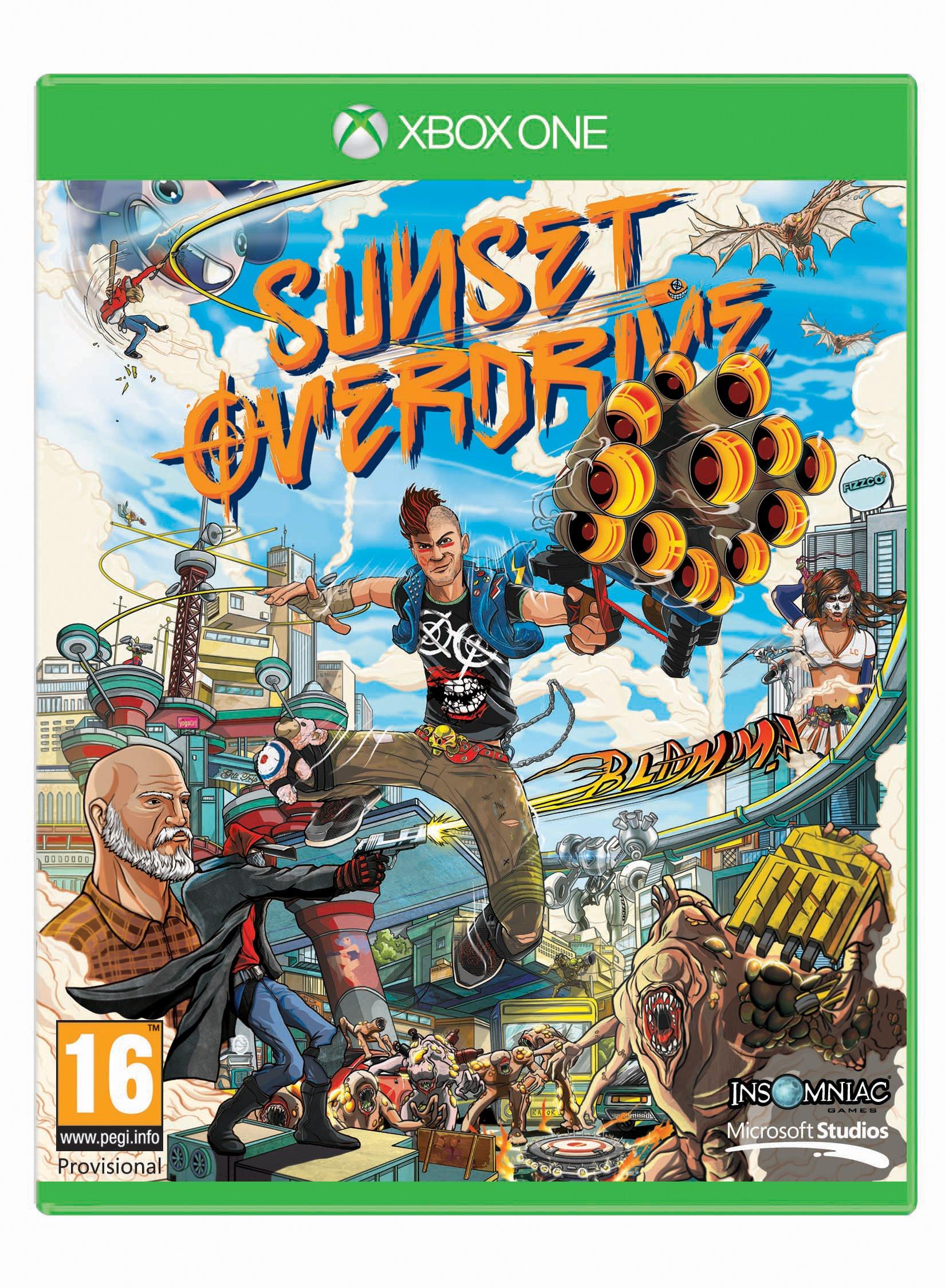 Sunset Overdrive (Xbox One) product image