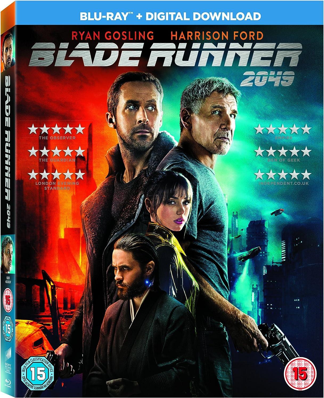 Blade Runner 2049 Blu Ray 2017 Amazon Co Uk Harrison Ford Ryan Gosling Harrison Ford Ryan Gosling Dvd Blu Ray