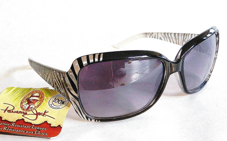 1508 PANAMA JACK Women/'s Designer Fashion Rose /& Rhinestone Sunglasses