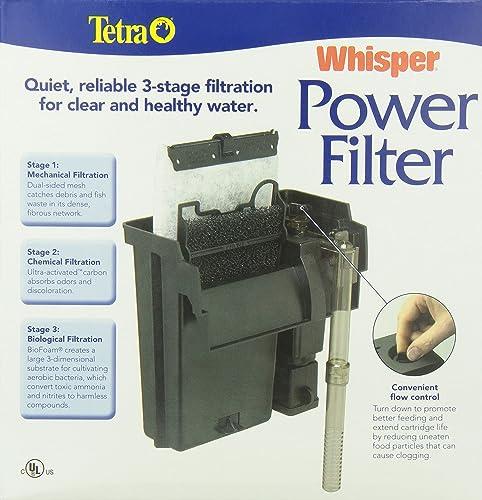 Tetra Whisper filtration system