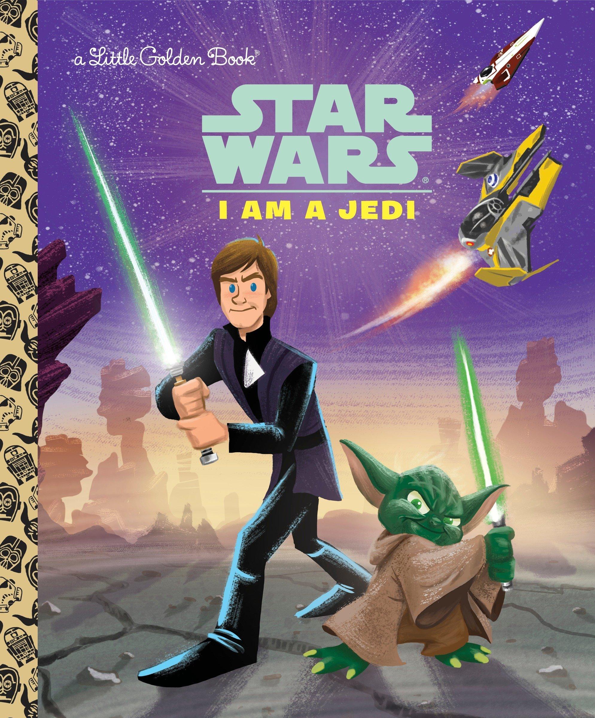 I Am a Jedi (Star Wars) (Little Golden Book): Golden Books, Ron Cohee:  9780736434874: Amazon.com: Books