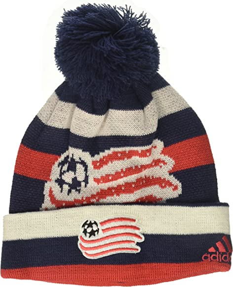 MLS by Outerstuff Boys Cuffed Knit Hat with Pom