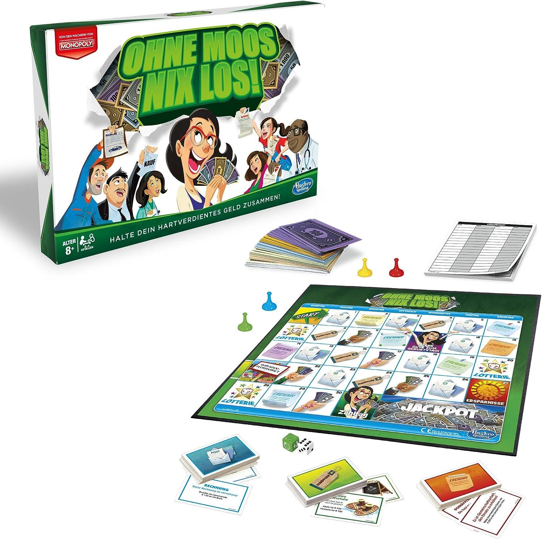 Hasbro E0751100 - Juego de Tablero (Simulación económica, Niños y Adultos, Niño/niña, 8 año(s), 100 Pieza(s)): Amazon.es: Juguetes y juegos
