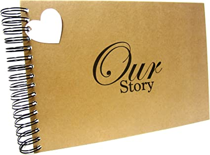 Landscape Photo Album A4 from UP A5 A4 Our Adventure Scrapbook Black Pages Card Pages