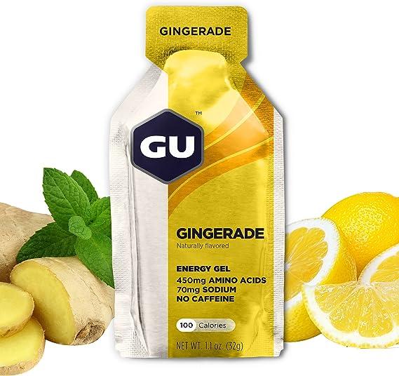 GU Energy Labs, Energy Gel, Nautrally Flavored Performance