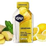 GU Energy Original Sports Nutrition Energy Gel, Gingerade, 24-Count Box