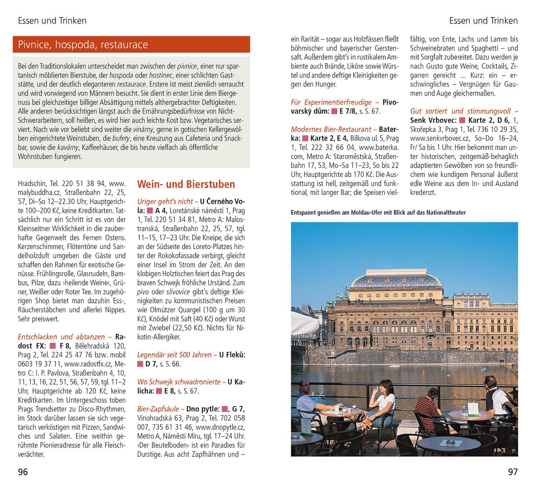Metro Prag Karte.Dumont Direkt Reiseführer Prag 9783770195930 Amazon Com Books