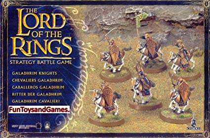 Amazon.com: Lord of the Rings galadhrim Caballeros: Toys & Games