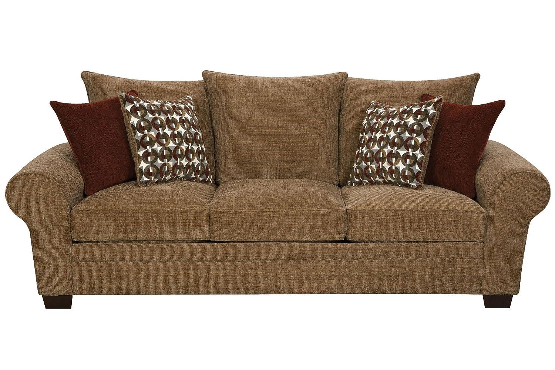 Amazon com resort chenille sofa kitchen dining