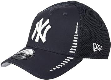 cf472951c6c6e New Era Hommes 39THIRTY Stretchfit Néon New York Yankees Otc Casquette Bleu  Marine SM - 54