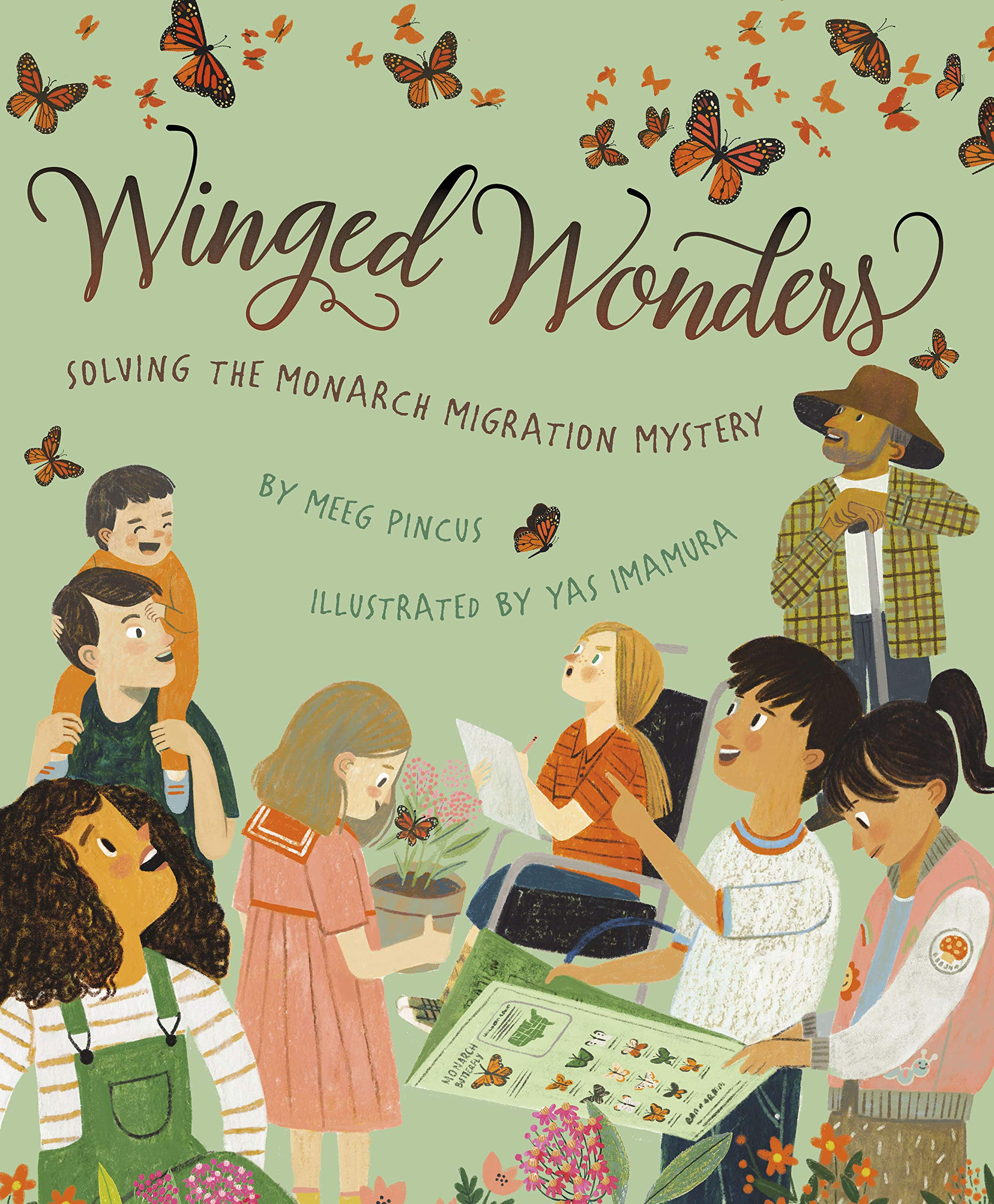 Winged Wonders: Solving the Monarch Migration Mystery: Meeg Pincus ...