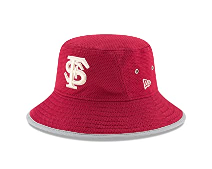 New Era NCAA Florida State Seminoles Adult NE16 Training Bucket Hat 08be270a5a5f