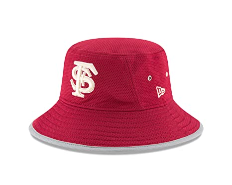 New Era NCAA Florida State Seminoles Adult NE16 Training Bucket Hat 18ee4796186