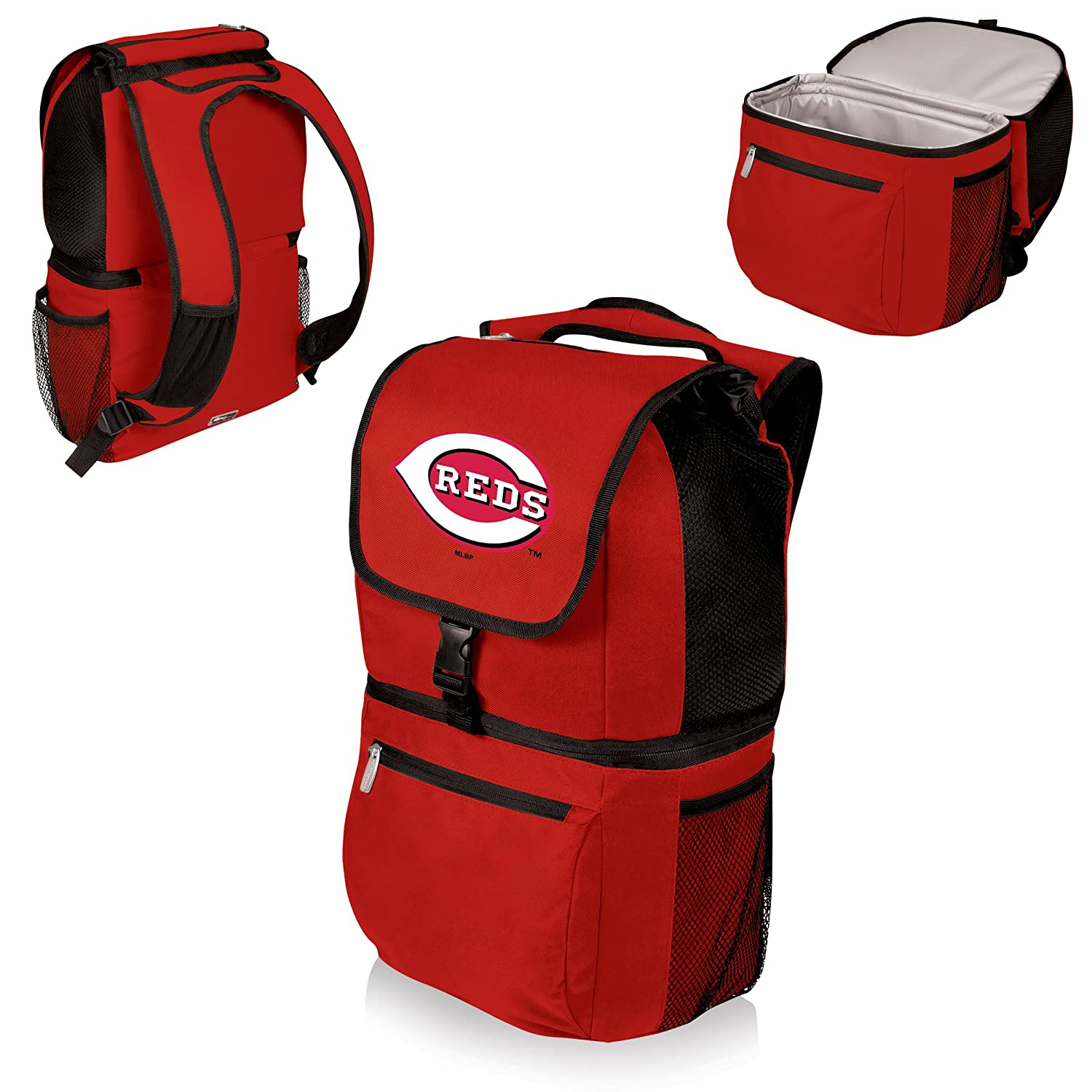 PICNIC TIME MLB Cincinnati Reds Zuma Insulated Cooler Backpack