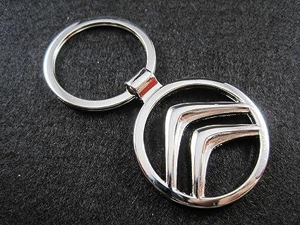Llavero de metal compatible con Citroen lla001-11