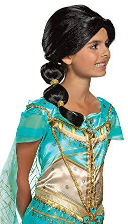 Childs Disney Jasmine Wig