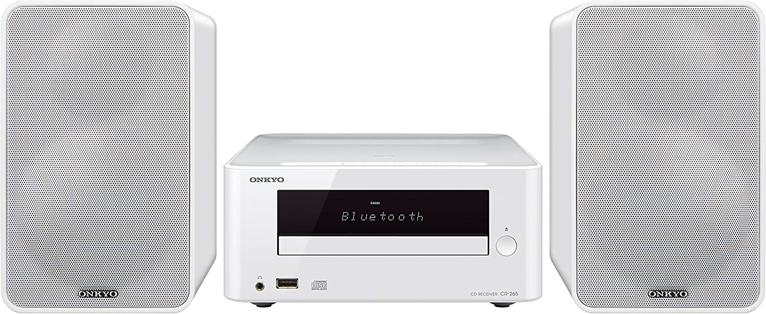 Onkyo CS-265-W - Sistema mini (Bluetooth, NFC, USB frontal) color blanco: Onkyo: Amazon.es: Electrónica