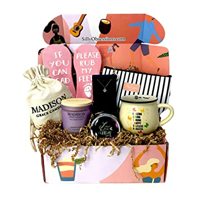 Gift Box For Mother By Silly Obsessions Birthday Basket Mom Wife