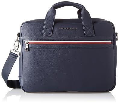 7f456d69 Tommy Hilfiger Mens Essential Computer Bag Ii Laptop Bag Blue (Tommy Navy):  Amazon.co.uk: Shoes & Bags