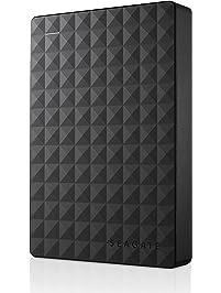 Seagate Expansion Portable 4TB External Hard Drive Desktop HDD – USB 3.0 for PC Laptop (STEA4000409)