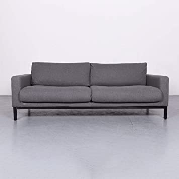 Bolia North Designer Stoff Sofa Grau Dreisitzer Couch #6686 ...