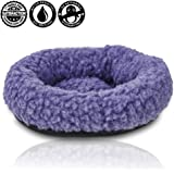 "For Hatchimals - EggHead Bed Nest Nesting 6.5"" Fleece Egg Holder Accessories- For Use With All Hatchimals Eggs - Purple"