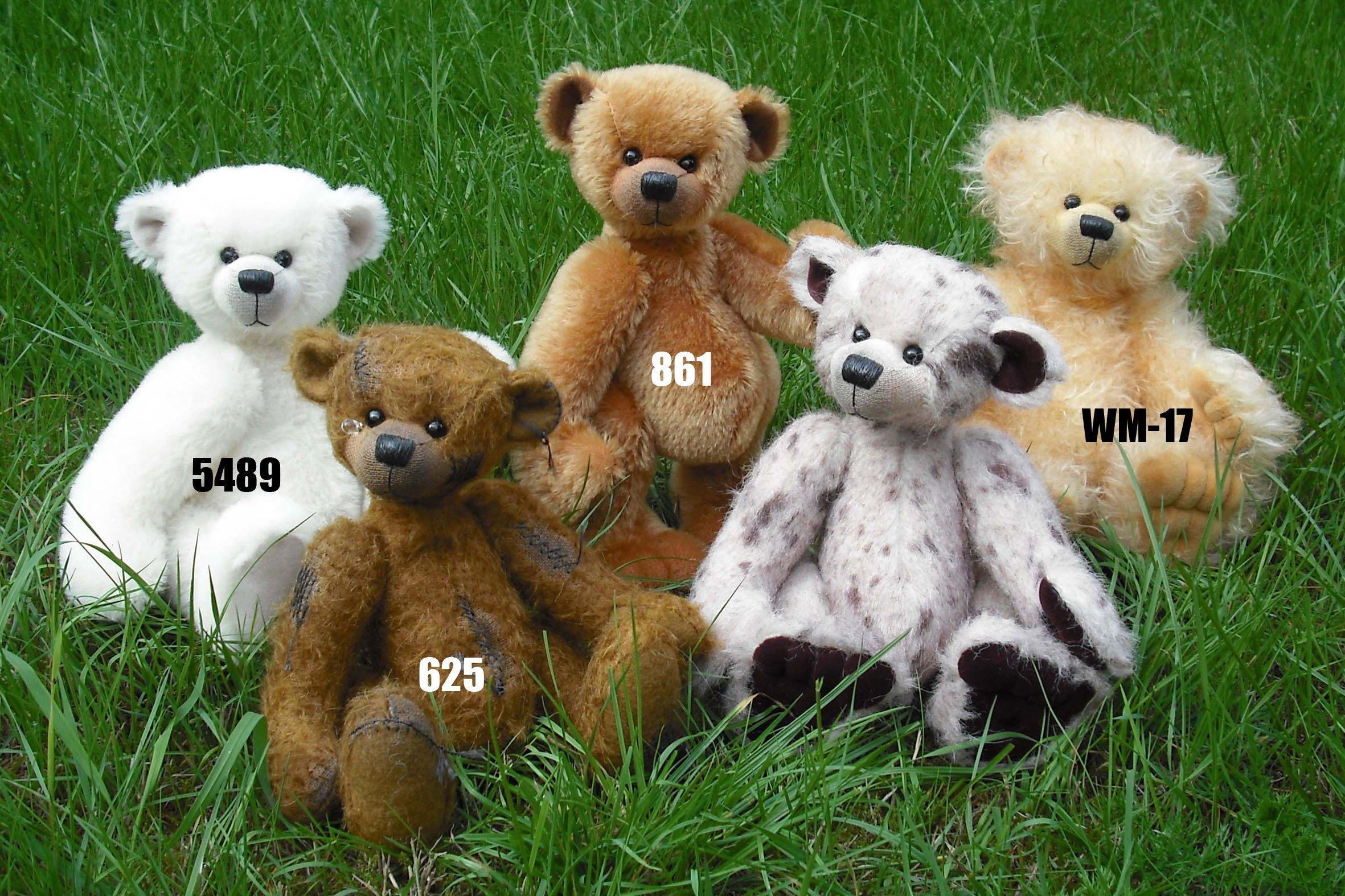Teddy Bear ''Wilja'' ± 9 Inches - SEW IT YOURSELF KIT (625)