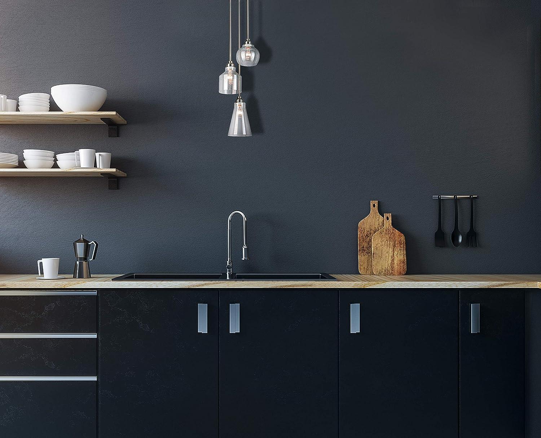 Design House 579458 Madison 3-Light Pendant, Brushed Nickel