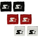 Starter Youth Unisex 6-Pack Wristband (Three Pair), Amazon Exclusive