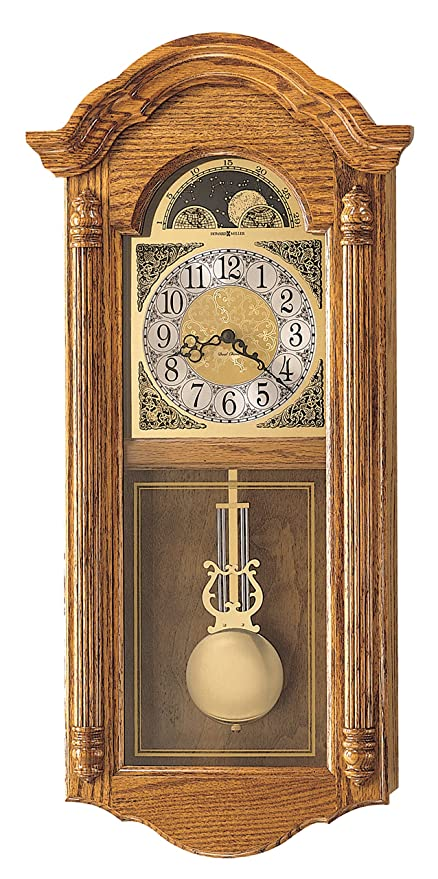 Amazon Com Howard Miller 620 156 Fenton Wall Clock Home Kitchen
