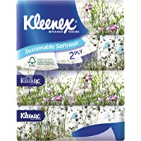 Kleenex Ultra Soft Facial Tissue 2 PLY (Soft Box), Garden, 180ct (Pack of 4)