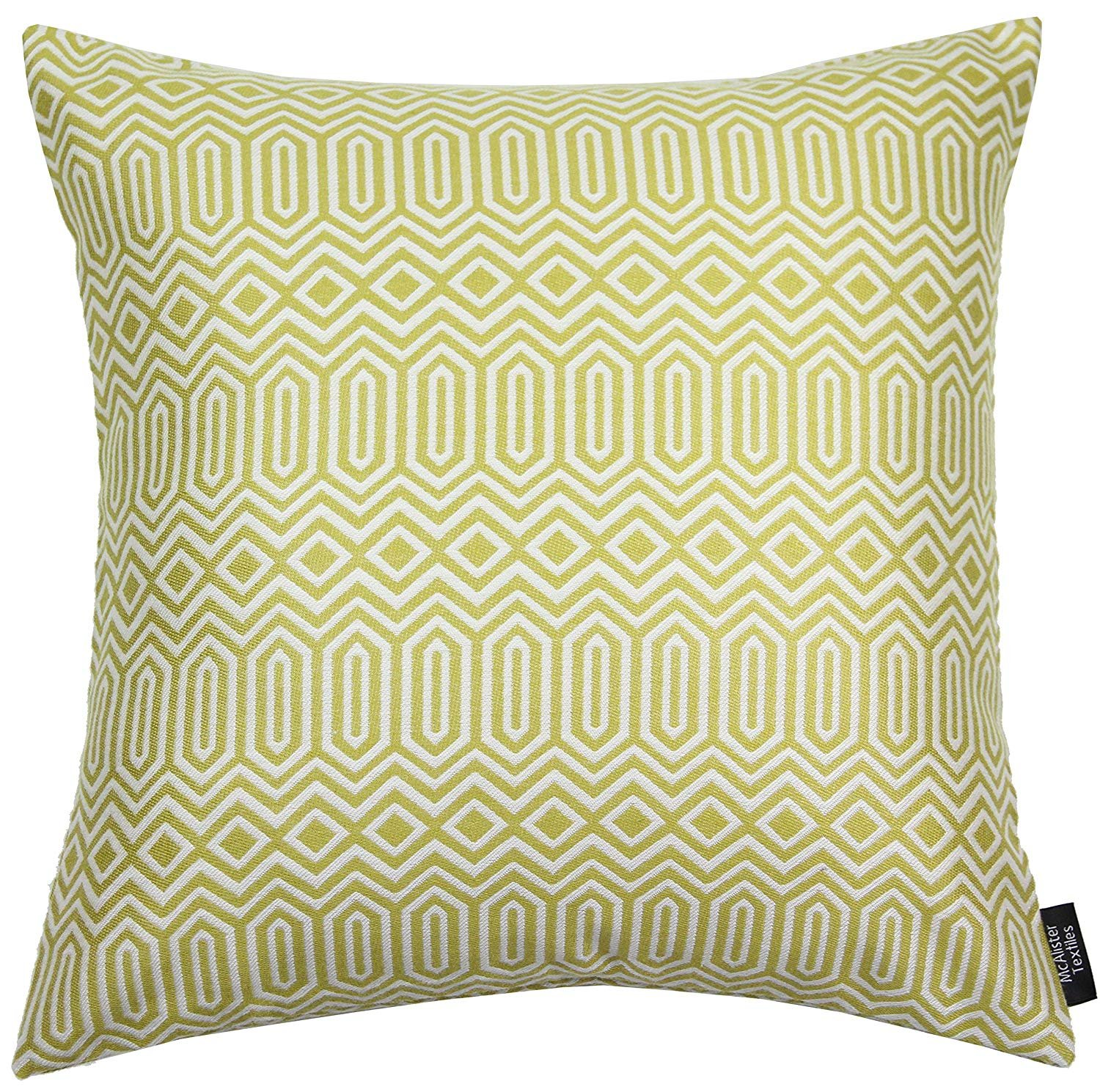 McAlister Colorado Woven Geometric 12x18 Oblong Pillow Cover | Charcoal Grey White Zip Decor Cushion Case | Thick Tribal Geo Geometry Modern Aztec Moroccan Accent McAlister Textiles