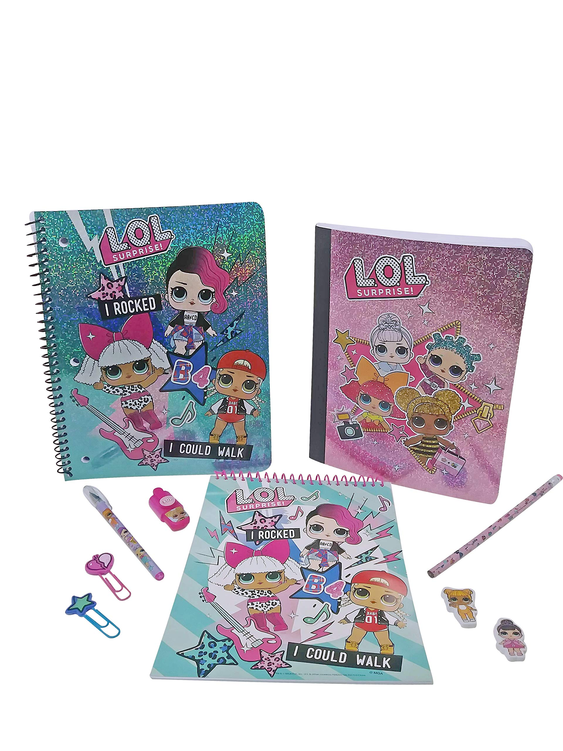 LOL Surprise Spiral Notebook LOL Surprise Composition Book LOL Stationary Set