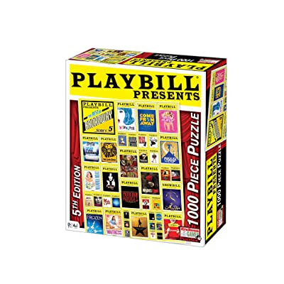 Playbill Broadway Cover - 1000 Piece Jigsaw Puzzle: ndlessGamesEndlessGames,: Toys & Games