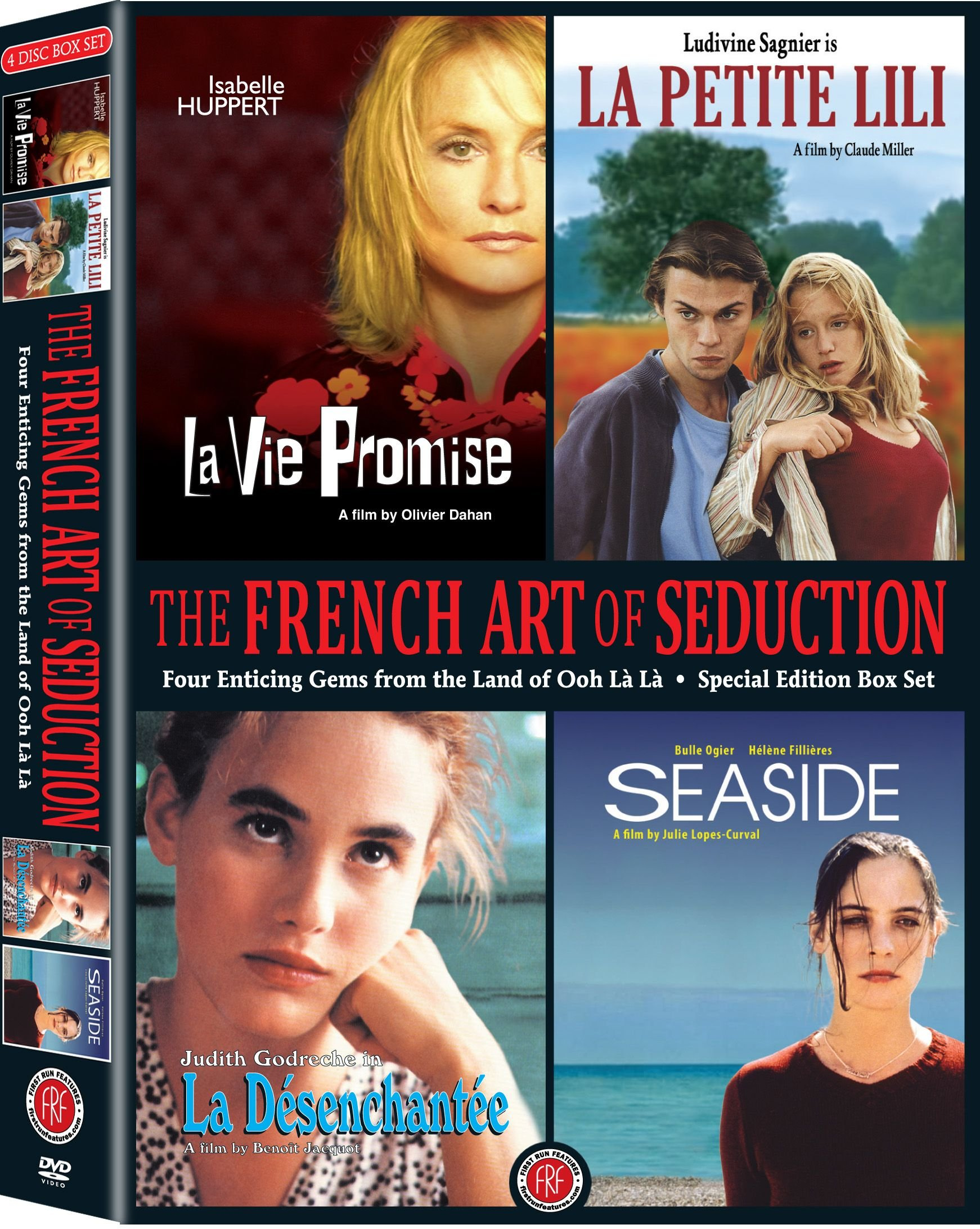 DVD : Bulle Ogier - The French Art Of Seduction (Widescreen, 4PC)