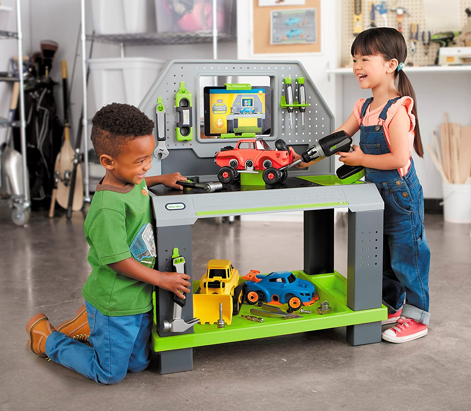 2218 Elenco Snap Circuits Jr Sc 100was 46 Toys Canada Best Deals 100 Electronics Discovery Kit New Factory Sealed 7116 Was 21999 Little Tikes Construct N Learn Smart Workbench Construction Tools