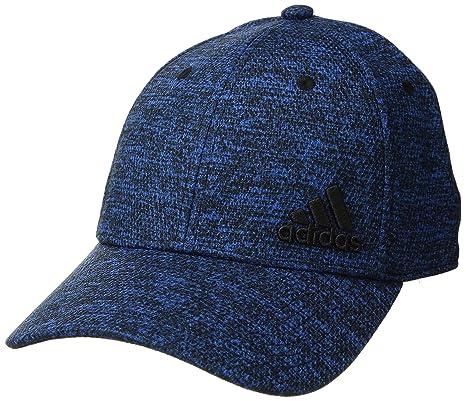 best website 957b5 611c0 adidas Men s Release Stretch Fit Structured Cap, jersey blue black, ...