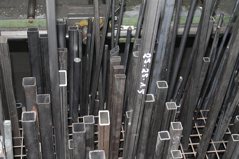 tubo profilato in acciaio da 120 x 60 x 3 mm lunghezza fino a 3000/mm quadrato in acciaio Tubo rettangolare