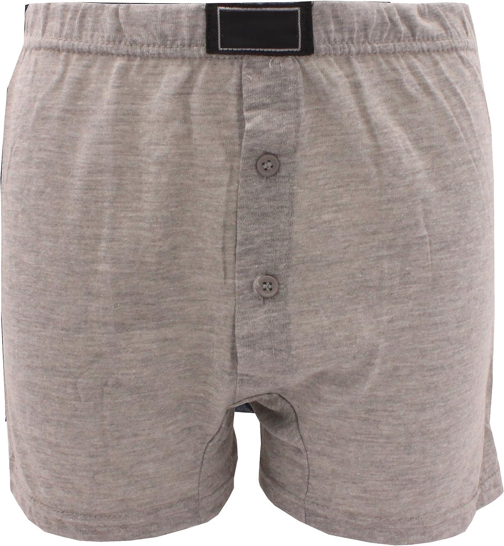 3//6//12 X Kids Boys Assorted Plain Colors Poly Cotton Boxer Shorts Under Pant