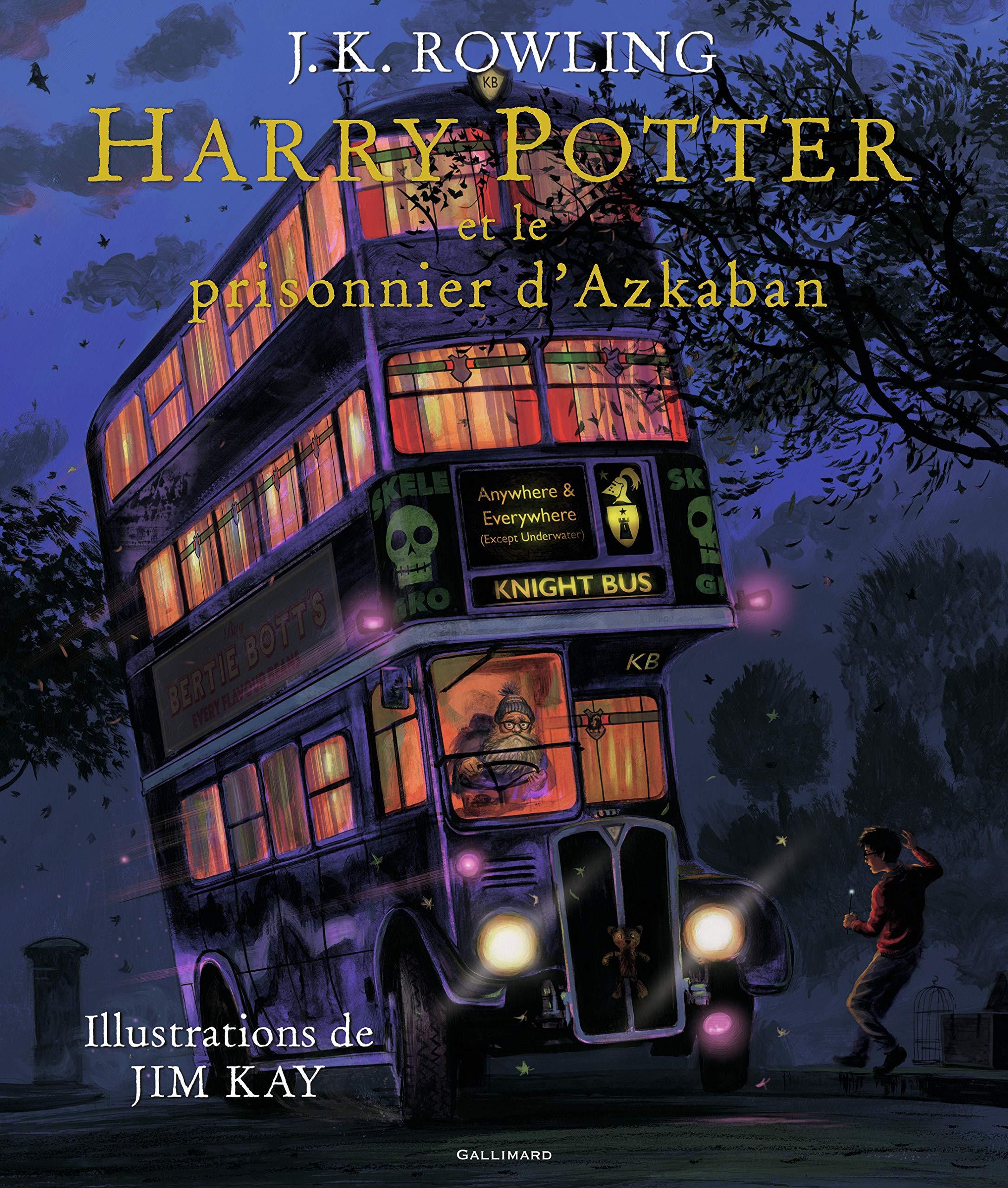Harry Potter Et Le Prisonnier D Azkaban Illustre Par Jim